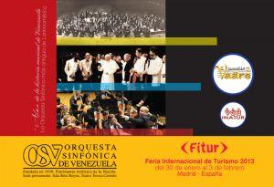 Orquesta Sinfónica de Venezuela y Ensamble Vaäre en Fitur 2013