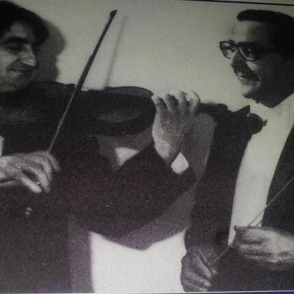 Maurice Hasson y Gonzalo Castellanos. Revista OSV (Archivo histórico)